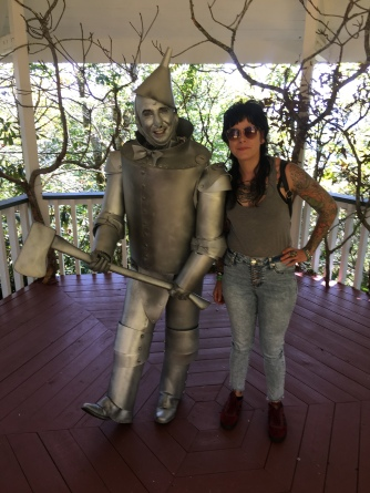 the tin man and I